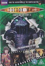DOCTOR WHO DVD FILES 134 THE NIGHTMARE OF EDEN tom baker dr NEW post10 for £3.50