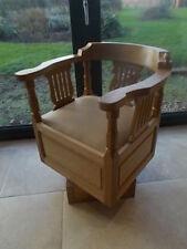 Oak Arts & Crafts Original Antique Chairs