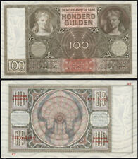 NETHERLANDS 1944 P-51c 100 Gulden  GEM UNC - US-Seller
