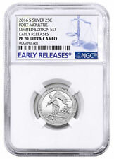 2020 S Early Release National Park Silver Proof Quarter 5 Coin Set Quarter PF70 NGC