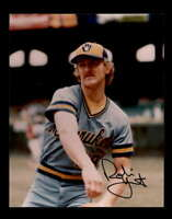 Robin Yount PSA DNA Coa Hand Signed 8x10 Photo Autograph