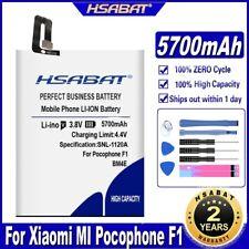 HSABAT 5700mAh BM4E Battery for Xiaomi MI Pocophone F1 Poco F1