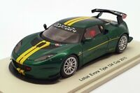 Spark 1/43 Scale S2206 - Lotus Evora Type 124 Cup 2010 - Green