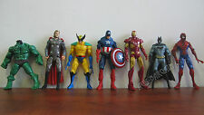 MARVEL Avengers Hero Series Action Figures Set of 5 Toy- Hulk Captain Iron Man