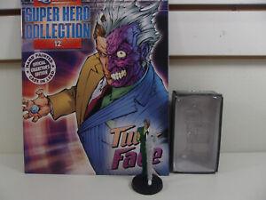 EAGLEMOSS Figure & Magazine Classic DC Super Hero Collection #12 Two Face