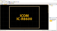 Icom IC-R8600 Ham Radio Amateur Radio Dust Cover