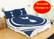 New TOTTENHAM FC Official Football Double Duvet Quilt Cover Set Boys Kids Spurs