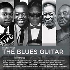History of The Blues Guitar 2017 Various CD