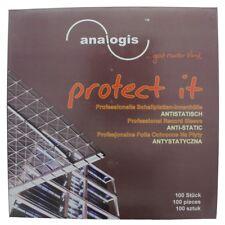 analogis protect it Schallplatten-Innenhüllen 100 Stück *NEU*