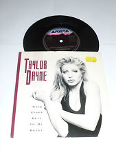 """TAYLOR DAYNE - With Every Beat Of My Heart - Deleted UK 2-track 7"""" Vinyl Single"""