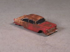 HO 1955 Orange Rusted Out Chevy, #8005