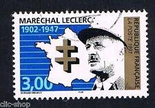1 FRANCOBOLLO FRANCIA MARESCIALLO LECLERC 1997 usato