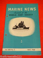 MARINE NEWS - MAY 1968 VOL XXll # 5
