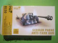 1:72 HäT 8150 WKII Deutschland PAK 40 7,5cm Kanone + Bedeinung Wehrmacht Armee