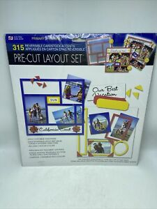 """Westrim Crafts 12"""" x 12"""" Pre-Cut Layout Set Primary Colors New In Package"""