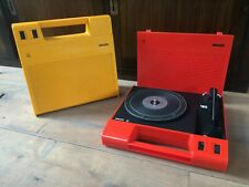 BEAUTIFUL Vintage Philips AF 180 portable record player turntable space age