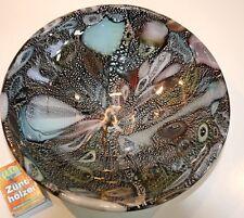 Murano AVEM Dino Martens Rest of the Day Tutti Frutti :  Schale, ca. 22x5,5cm
