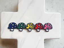 Mushroom Rainbow Group Children's Magic Embroidered Iron On Patches Patch