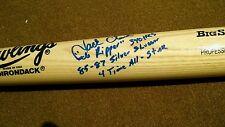 JACK CLARK Autographed RAWLINGS Baseball Bat
