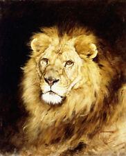 Canvas Animal Head Wall Hangings