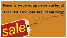 250 Business Card Size Gospel Tracts Coupon Savings