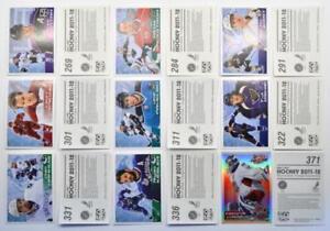 2011-12 Panini NHL Hockey Stickers (#272-384) Pick a Player Sticker