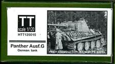 Hauler Models 1/120 German PANTHER AUSF.G TANK Resin & Photo Etch Model