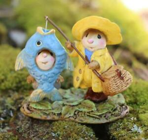 Wee Forest Folk M-676a Reel Chums - New