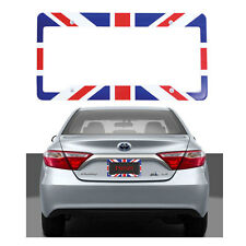 New United Kingdom Flag Car Truck Universal Fit License Plate Frame Made in USA