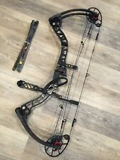 Mathews Monster 6 Compound Bow. Right-Hand, 28'' w/ 70 & 80# Limbs + Accessories