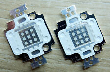 2 Stk. 10 W LED Chip Royal blau Blue,45*45 mil, 8-11V, 445-450 nm, COB, Aquarium
