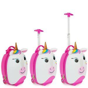 boppi Kids Cabin Bag Childrens Roller Luggage Light Kids Travel Cases UNICORN