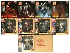 KAIYODO SCI-FI REVOLTECH  IRON MAN FIGURES LOT