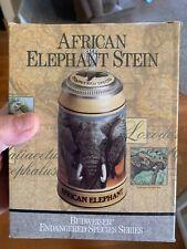 Budweiser Endangered Species ( African Elephant) Mint paperwork & box