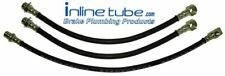 71-72 Chevy Gmc Truck K10 20 Front Disc Rear Drum Brake Rubber Flex Hose Set 3p