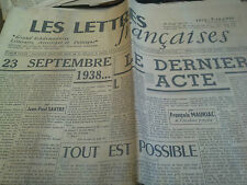 les lettres française journal n° 27 du 28 octobre 1944