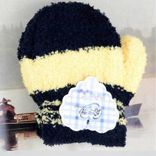 Newborn Baby Girls Boys Child Gloves Winter Warm Stretchy Mittens Soft Plush SG