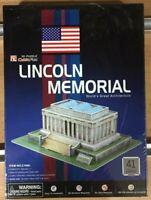 LINCOLN MEMORIAL PUZZLE 3D PRETROQUELADO CUBICFUN,41 pcs,REF.C104H