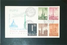 Vatican 1959 Airmail Series First Day Cover - Z3435