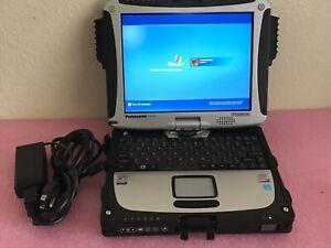 0Hr Panasonic ToughBook CF-19 Intel Core 2 Duo U9300 @1.20GHz 2GB ram 160GB