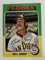 1975 Bill Grief # 168 Topps Baseball Card San Diego Padres