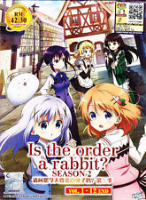Is the order a Rabbit? Season 2 DVD (Eps : 1 to 12 end) with English Subtitle