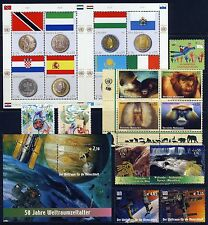 UN . VIENNA . 2007 Year Set . 11 Stamps + 2 Sheets . Mint Never Hinged