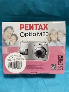 PENTAX OPTIO M20 DIGITAL 7.0 MP CAMERA IMAGE LINK PRINT SYTEM NEW RARE
