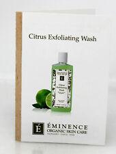 Eminence Organic Citrus Exfoliating Wash Sample Size (Pack of 6)