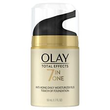 Olay Total Effects CC Cream Daily Moisturizer Touch of Foundation 1.7oz 5 Pack