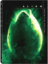 ALIEN - 2 DISC DVD - UNCUT - DEFINITIVE EDITION - OOP - RIDLEY SCOTT