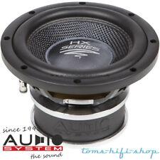 "Audio System HX-08 SQ 20cm High-End Subwoofer 300 Watt Auto Woofer 8"" Sub"