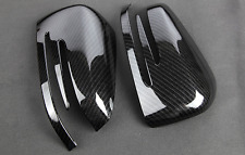 Mercedes Benz W204 W176 GLA CLA A C E CLASS Carbon Fiber Style Side Mirror cover