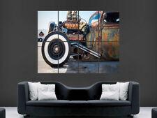 Hot-Rod Rusty Auto Clásico Impresión de imagen de EE. UU. Retro Gigante